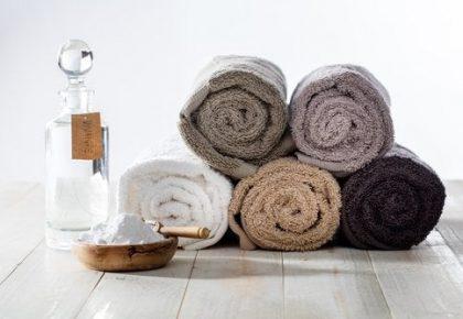 Cómo limpiar las toallas con bicarbonato de sodio